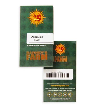 Acapulco Gold fem (Barney's Farm) семена конопли